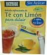 Te con limon instantaneo con edulcorante 12 sobres - 36 g Hacendado