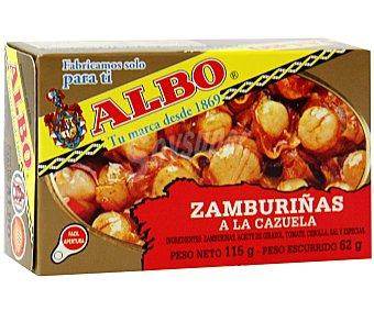 Albo Zamburiñas a La Cazuela Lata 62 g (peso neto escurrido)