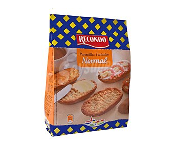 Recondo Panecillos tostados normales Paquete 225 g