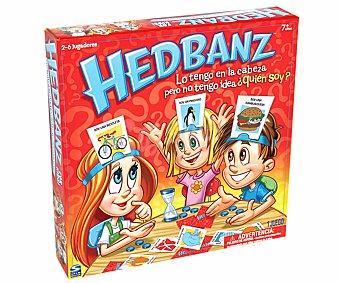 BIZAK Juego de Mesa Headbanz, Adivina Qué Pienso, de 2 a 6 Jugadores 1u
