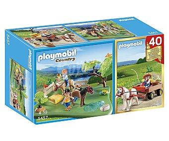 Prado Compact set aniversario poni + carreta con poni