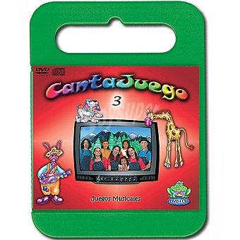 CANTAJUEGO Volumen 3 incluye DVD y CD