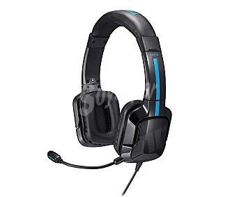 TRITTON Cascos con Micrófono Kama, compatible con PS4/PSVITA/SMARTPHONE/TABLET, Color Azul 1 Unidad