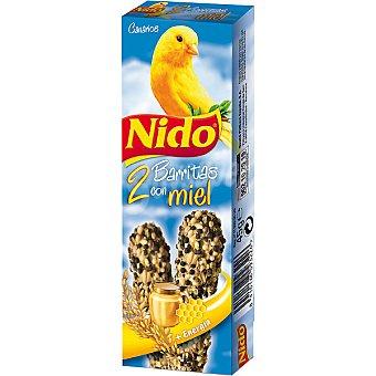 Nido Purina Barritas con miel para canarios Paquete 45 g