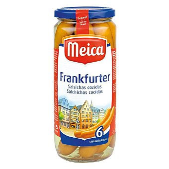 Meica Salchichas frankfurt 6 piezas Frasco 250 g neto escurrido