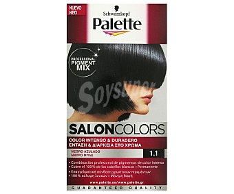 Palette Schwarzkopf Tinte Negro Azulado Nº 1.1 Salon Colors 1u