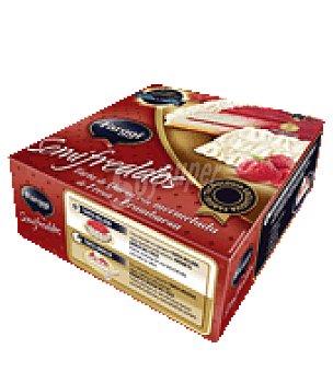 Farggi Tarta semifreddos queso con mermelada de fresa y frambuesa 750 ml
