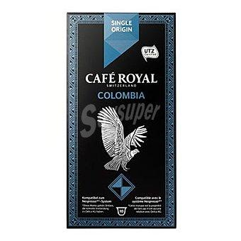 Royal Cápsulas de café original Colombia 10 ud