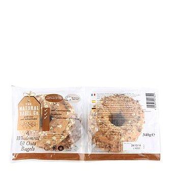 The Natural Bagel Rosca integral/avena 340 g