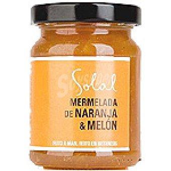 Solal Mermelada de naranja y melón Frasco 170 g