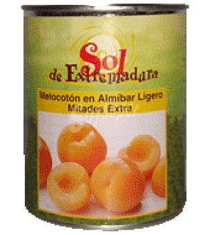 Sol de Extremadura Melocotón almibar extra lata 480 g