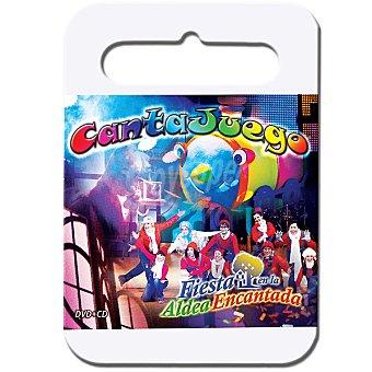 """CANTAJUEGO """"fiesta en la Aldea Encantada"""" incluye DVD y CD"""
