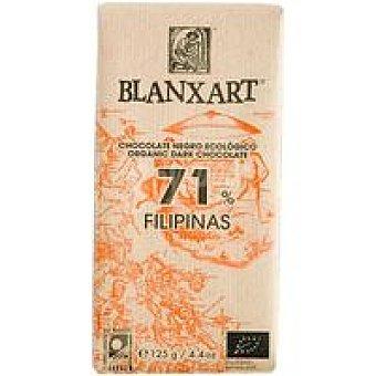 BLANXART Chocolate negro 71% Filipinas ecológico 1u