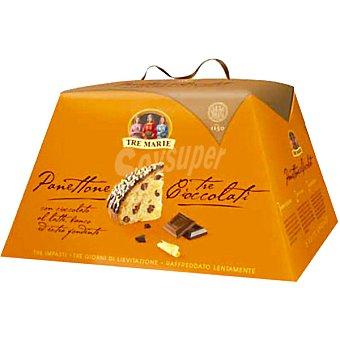 TRE MARIE panettone de chocolate estuche 650 g
