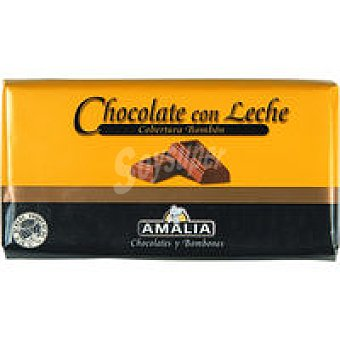 Amalia Chocolate con leche Tableta 200 g