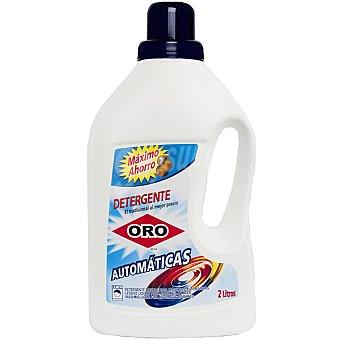 Oro Detergente máquina líquido botella 2 l 2 l