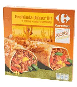 Carrefour Kit enchilada 200 g