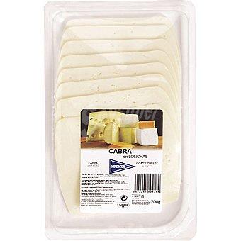 HIPERCOR queso de cabra en lonchas  envase 200 g