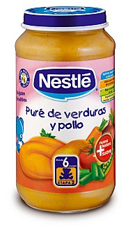 Nestlé NaturNes Tarrito Nestlé NaturNes Verduritas de la Huerta con Pollo 250 g