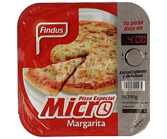 Findus Pizza margarita especial para microondas 200 g