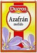 Azafrán natural molido 4 sobres de 0,125 g Ducros
