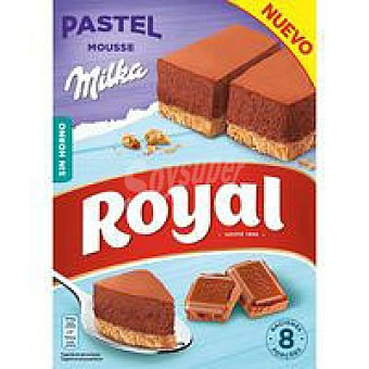 Royal Pastel de mousse de chocolate Milka Caja 215 g