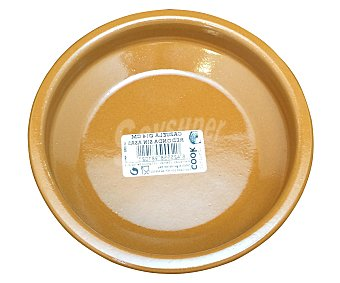 LINKER Cazuela de barro sin asas, 14 centímetros de diámetro 1 unidad