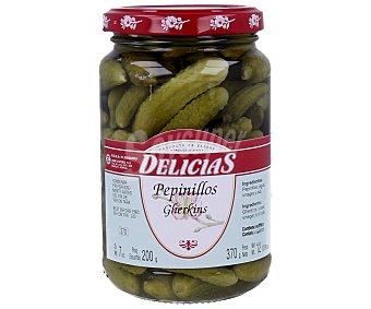 DELICIAS Pepinillos en vinagre extra 200 g