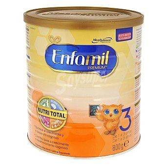 ENFAMIL Premium 3 Leche infantil desde 1 año Lata 800 g