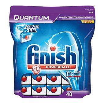 Finish Lavavajillas máquina quantum 40 pastillas