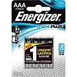 Max Plus pila AAA LR-3 blister 4 unidades blister 4 unidades Energizer