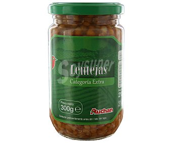 Auchan Lentejas cocidas 215 gramos