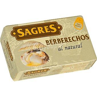 Sagres Berberechos pequeños al natural Lata 63 g neto escurrido