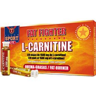 TEGOR Quema grasas l-carnit Fat Fight Pack 20x10 ml