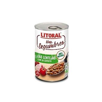 Litoral Lentejas de la Abuela cocinadas 435 g