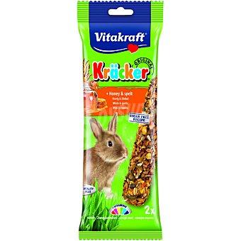 Vitakraft Barritas para conejo enano con miel paquete 2 unidades Paquete 2 unidades