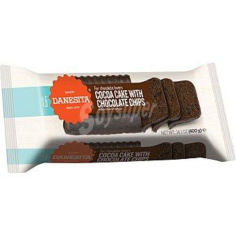 Danesita cake de chocolate con chips de chocolate paquete 400 g