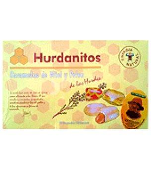 Hurdanitos Caramelos de miel y polen 150 g
