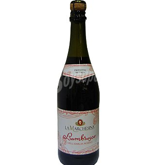 Lambrusco marchesina tinto 75 CL