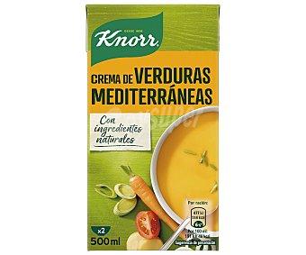 Knorr Crema de verduras Mediterráneas 500 ml