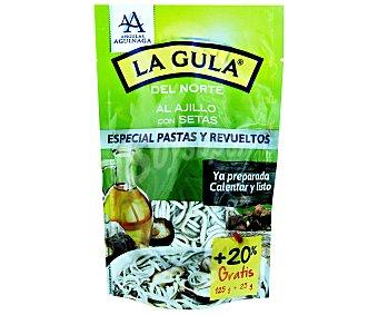 Angulas Aguinaga La Gula del norte fresca con setas Bolsa 125 g