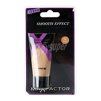 Max Factor Base Liquida Smooth Effect 50 natural 1 ud
