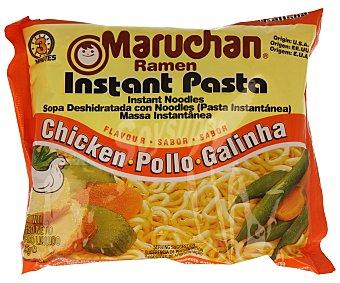 MARUCHAN Pasta instantánea sabor a pollo 85 gramos