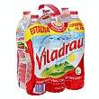 Agua mineral Botella de 1,5 litros pack de 6 Viladrau Nestlé
