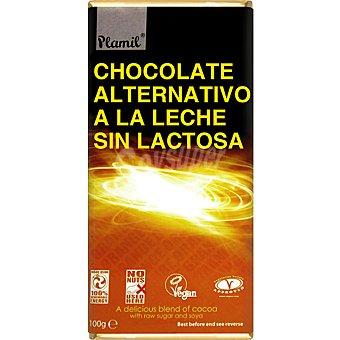Plamil Chocolate alternativo a la leche sin lactosa Tableta 100 g