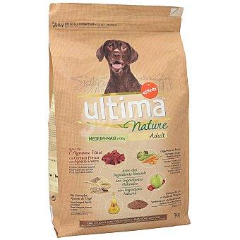 Ultima Affinity Comida para perro adulto a base de cordero, cereales y legumbres última nature Adult Affinity 3 kg