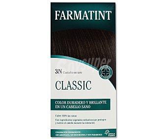 Farmatint Coloración en crema permanente 3-N castaño oscuro 155 mililitros