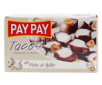 Pay Pay Pota al ajillo en tacos 63 gr