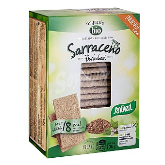 Santiveri Tostadas crujientes con trigo sarraceno ecológicas 100 g