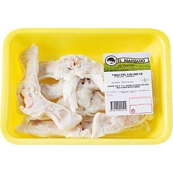 Manzano Manos frescas de cordero peso aproximado bandeja 500 g